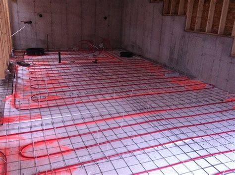 radiant heat basement rooms