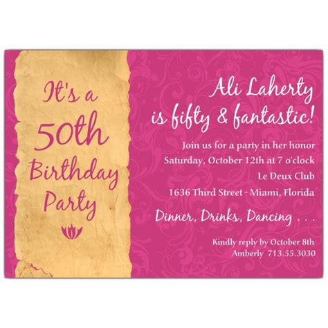 invitation quotes for birthday quotes for 50th invitation quotesgram