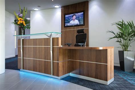 Dda Reception Desk Elite Eck3 Dda Reception Desk No Plinth Reality