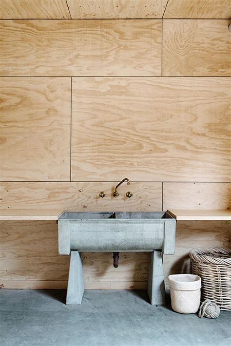 plywood for bathroom birch plywood panelling for the home pinterest the floor vintage sink and brewery