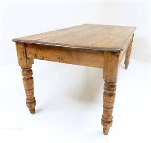 Pine Kitchen Tables Pine Kitchen Table Antiques Atlas