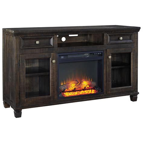 cabinet for fireplace insert ashley signature design townser solid wood pine large tv