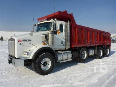 used kenworth trucks ontario kenworth t800 dump trucks for sale used trucks on