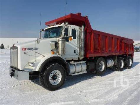 kenworth trucks for sale in ontario kenworth t800 dump trucks for sale used trucks on
