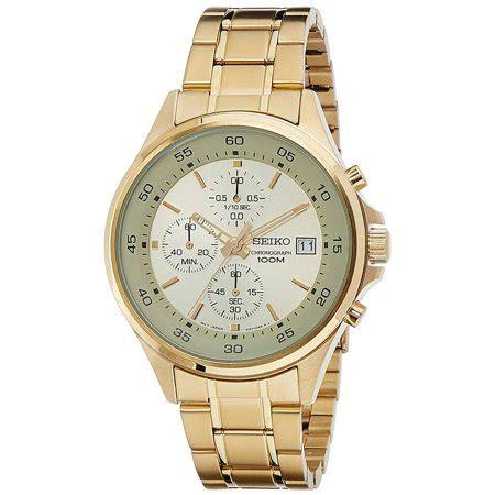 Seiko Sks482 seiko sks482 s chronograph gold tone yellow gold