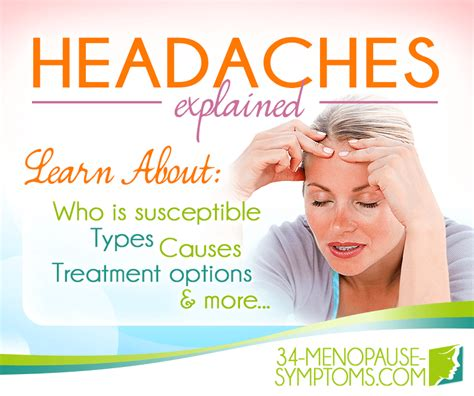 migraines and mood swings types of headaches 34 menopause symptoms com