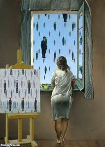Too Blind To See It Magritte Paintings Pictures Gallery Freaking News