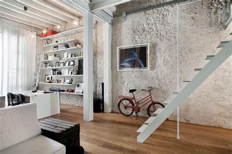 brick loft stylish exposed brick wall lofts