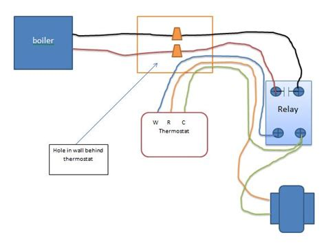 wiring diagram for a 120 volt thermostat get free image