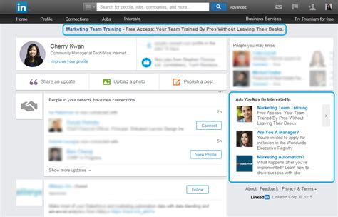 10 Traffic Sources To Leverage After Google S Ad Changes Linkedin Ad Template