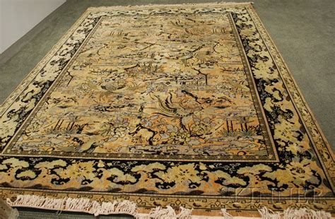 whittall rug two m j whittall associates machine woven bird of paradise pattern carpets sale number 2534m