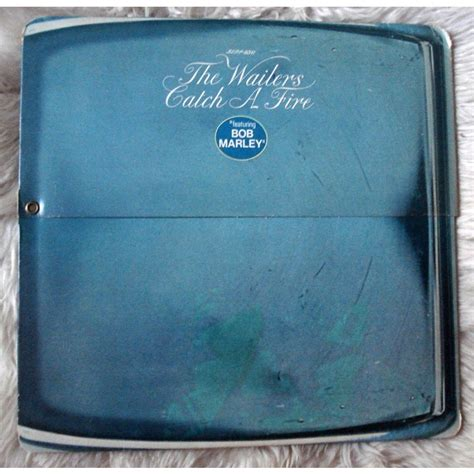 Original Zippo 29490 Bob Marley bob marley the wailers catch a zippo cover lp gatefold for sale on groovecollector
