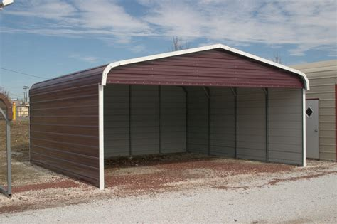 Garage Car Port by Carport Metal Carports And Garages