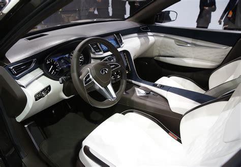 detroit woodworking show infiniti qx50 suv concept detroit auto show photos