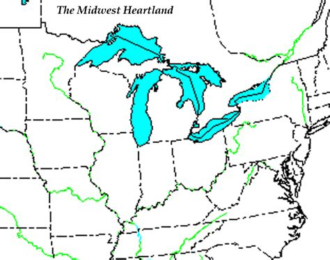 map of the midwest scsfourthgrade 2013 14 social studies