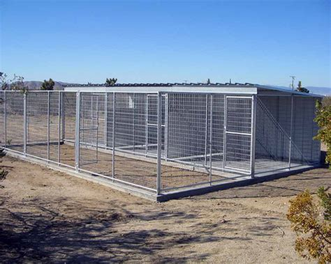 kennels for outside professional outdoor and backyard kennel runs quotes