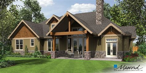 Mascord House Plan 22157AA   The Ashby