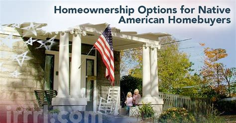 native american housing loans home financing option for native american veteran