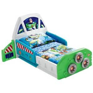 tikes buzz lightyear spaceship toddler bed by oj