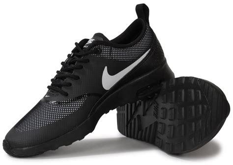 nike air max thea black white chaussures chaussures