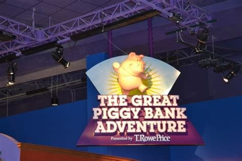 the great piggy bank adventure the great piggy bank adventure disney s epcot orlando