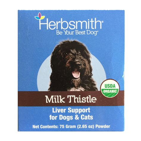 Milk Thistle Liver Detox Dogs by Lukes All