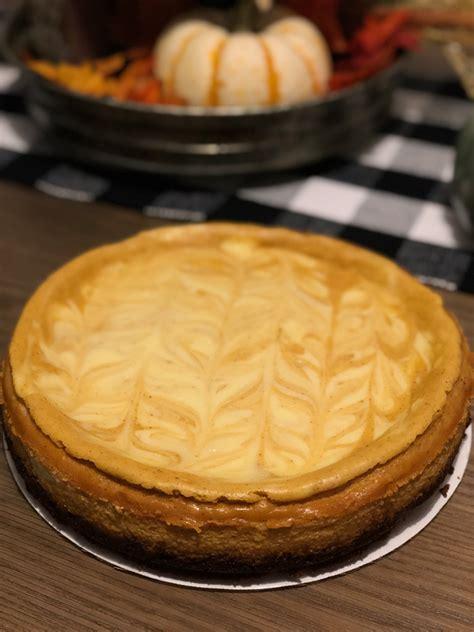 pumpkin swirl cheesecake  fuller living