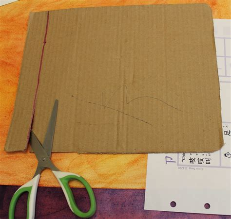 How To Make A Book Cover Out Of Wrapping Paper - ancient book binding craft for children to teach