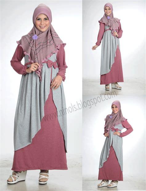 Gamis Bandung ninols busana muslim kaos gamis kaos blus kaos celana kaos jilbab pasar baru bandung 6