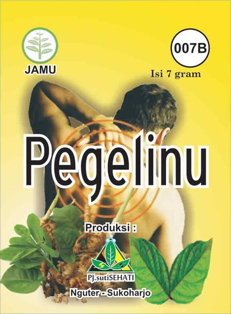 Jamu Rebus Godog Pegel Linu jamu jawa katalog produk