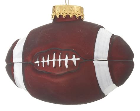football christmas ornament football