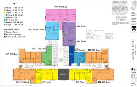 layout for university floor plans college houses academic services