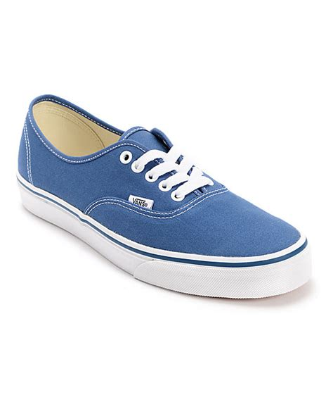 Vans Authentic Classic Maroon vans authentic navy canvas shoes at zumiez pdp