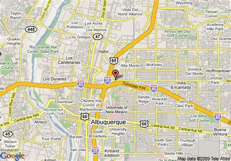 albuquerque map albuquerque new mexico on map afputra