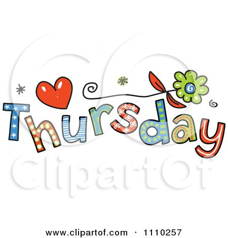 thursday clip thursday clipart clipground