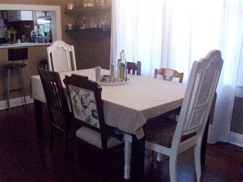 Mismatched Dining Chairs Mismatched Dining Chairs Dining Room White Mismatched Dining Chairs Using Mismatched Dining