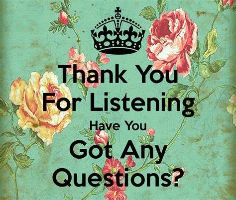 Darimeyahave You Got Yours by Thank You For Listening You Got Any Questions Poster