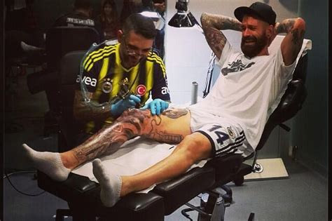 back tattoo tevez worst tattoo in football carlos tevez shows off latest