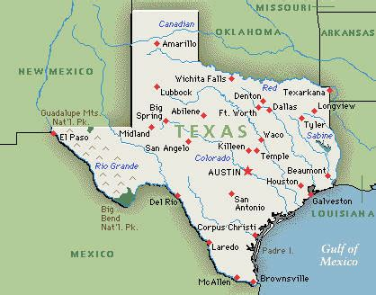 texas geography map supporting links year 3 geography tapestry of grace