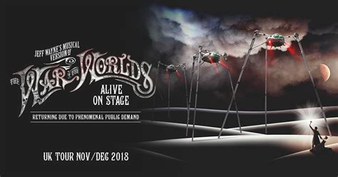 The War Stage jeff wayne s musical version of the war of the worlds