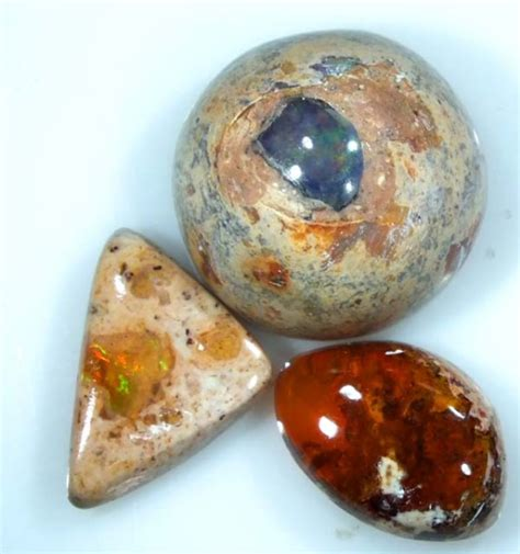 Opal 3 25 Cts 25 cts opal 3 mexican cabs fob 564