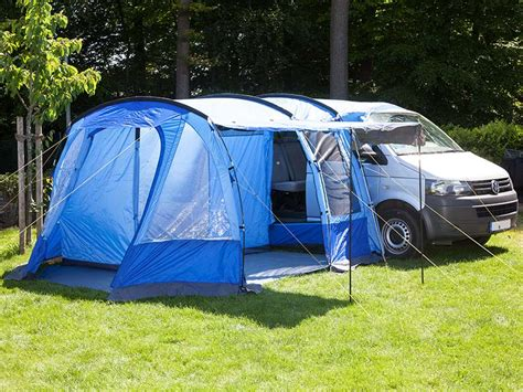 Skandika Aarhus Travel Mini Van Awning Tent Camping 2 Person Man Blue New Ebay