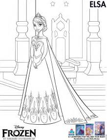 elsa frozen coloring pages frozen elsa coloring pages printable