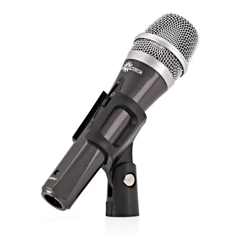 Stand Microphone Vocal microphone vocal avec perche stand et c 226 ble 224 gear4music