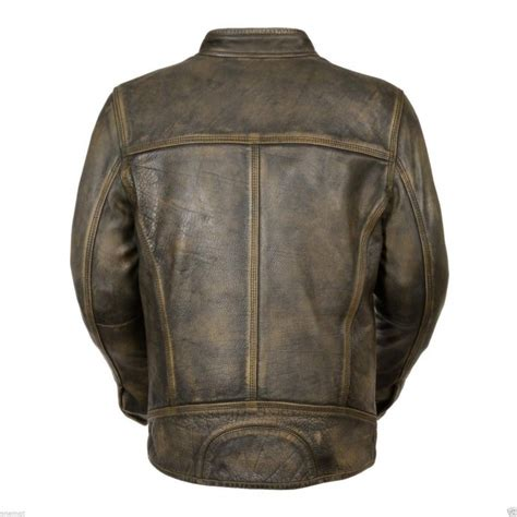 leather bike jackets for sale biker cafe racer vintage style leather jacket for sale
