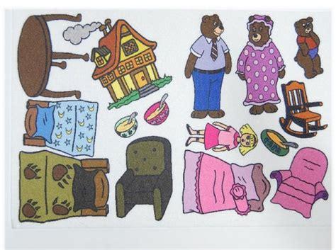 felt storyboard templates goldilocks and the 3 bears felt board story flannel board