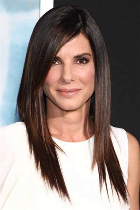 straight hair with layers and part in the middle 20 long layered straight hairstyles hairstyles