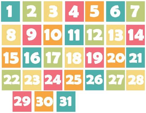 printable calendar numbers 17 best images about verylegendaryee printables on