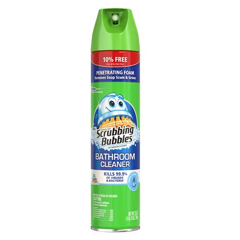 scrubbing bubbles bathroom cleaner reviews in bathroom