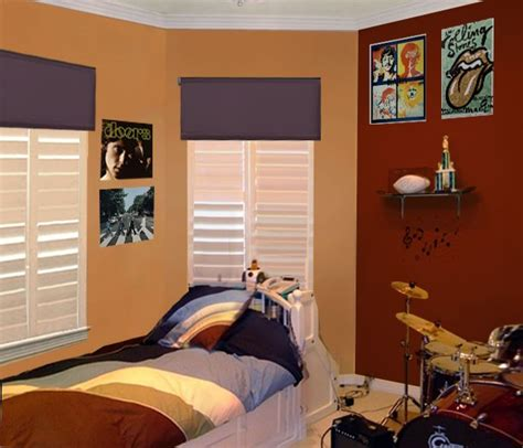 teenage bedroom color schemes bedroom color schemes for teenage guys is pottery barn